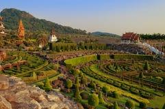 Jardin de Nong Nooch Image libre de droits