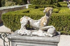 Jardin de palais d'Oeiras Photographie stock libre de droits