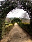 Jardin de palais de Mateus Photos stock
