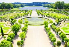 Jardin de palais de Versailles, Paris, France photographie stock libre de droits
