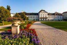 Jardin de palais présidentiel Photos stock