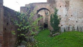 Jardin de palatino de Monte, histoire vivante de Rome photo libre de droits