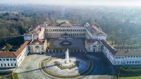 Jardin de Reale de villa, Monza, Italie images libres de droits