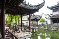 Jardin de Renhe Photos libres de droits