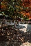 Jardin de retraite de ville antique de Wujiang Tongli Photos stock