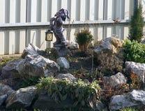 Jardin de rocaille, jardin de roche, jardin alpin Images libres de droits