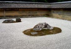 Jardin de roche Image libre de droits