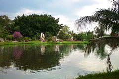 Jardin de roche Images libres de droits
