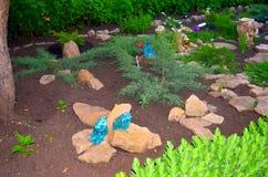 Jardin de roche Images stock