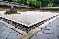 Jardin de roche, jardin de zen Image libre de droits