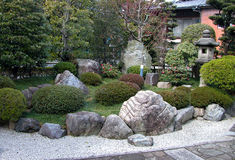 Jardin de roches Photographie stock libre de droits