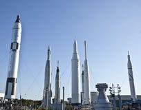 Jardin de Rocket aux visiteurs de KSC centraux Photo stock