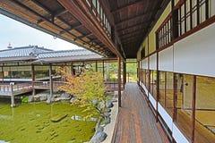 Jardin de Shosei ? Kyoto, Japon image stock