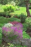 Jardin de source Photos libres de droits