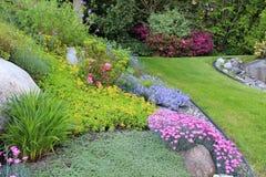 Jardin de source Photographie stock