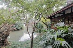 Jardin de temple de wuhou, adobe RVB images libres de droits