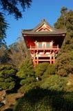 Jardin de thé Image libre de droits