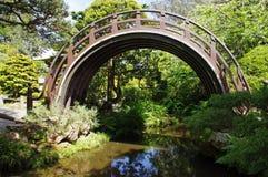 Jardin de thé japonais Photo libre de droits