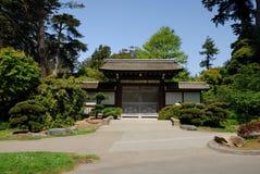 Jardin de thé japonais Images libres de droits