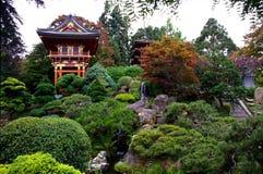 Jardin de thé japonais photos stock