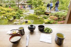 Jardin de thé japonais, San Francisco Photographie stock libre de droits