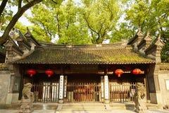 Jardin de Tianyige à Ningbo, Chine Images libres de droits