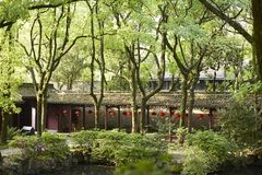 Jardin de Tianyige à Ningbo, Chine Photo stock