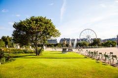 Jardin de Tuileries Στοκ Εικόνα