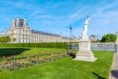 Jardin de Tuileries au ressort, Paris, France Photos libres de droits