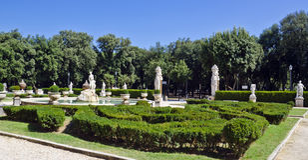 Jardin de Vénus, villa Borghese image libre de droits