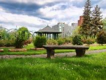 Jardin de ville Photos stock