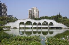 Jardin de zen à Taïwan Images libres de droits