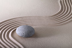 Jardin de zen Photographie stock