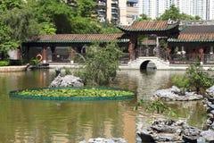 Jardin de Zen Chinese image libre de droits