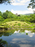 Jardin de zen d'Isuien à Nara Image stock