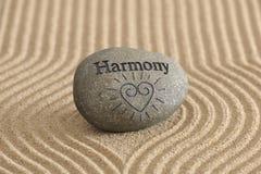 Jardin de zen en harmonie photographie stock libre de droits