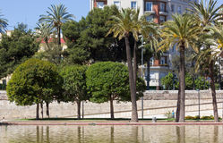 Jardin del Turia Park in Valencia Royalty Free Stock Photography