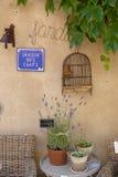 Jardin des闲谈 库存照片