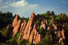 Jardin des dieux Colorado Springs Image libre de droits