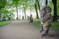 Jardin des nains Photo stock