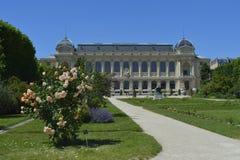 Jardin des Plantes - Paris 5th arrondissement. The Jardin des Plantes in Paris are a beautiful botanic garden royalty free stock images