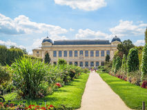 Jardin des Plantes - Paris. View on main building in Jardin Des Plantes in Paris, France Royalty Free Stock Photography