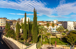 Jardin des Potiers in Montpellier - France. Languedoc-Roussillon stock photography