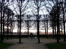 Jardin des Tuileries arkivbild
