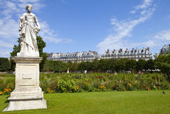 Jardin des Tuileries in Paris Royalty Free Stock Photo