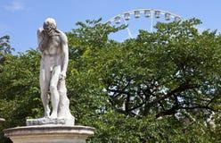 Jardin des Tuileries in Paris stock photos