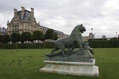 Jardin des tuileries Stock Photo
