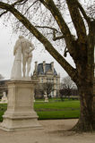 Jardin des tulieries Royalty Free Stock Image