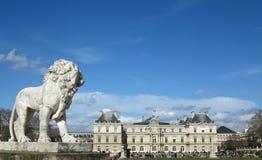Jardin du Луксембург Стоковая Фотография
