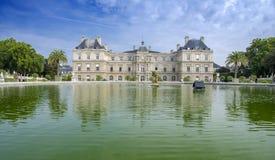 Jardin du Люксембург, Париж Стоковое Изображение RF